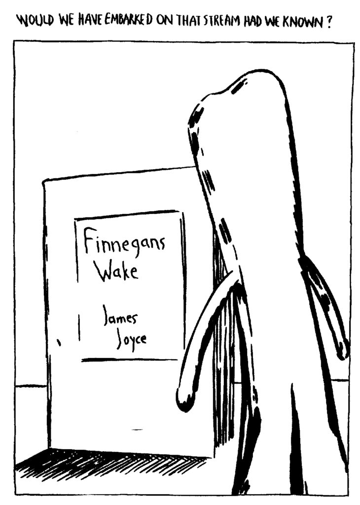 Raymond Pettibon, Gumby and Finnegans Wake for Waywords and Meansigns